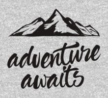 Adventure Awaits One Piece - Long Sleeve