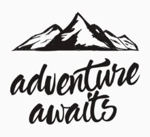 Adventure Awaits Kids Tee