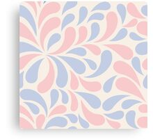 abstract colorful pattern in pastel colors Canvas Print