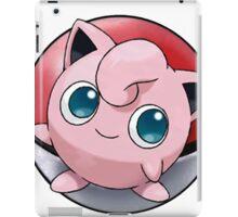 Jigglypuff pokeball - pokemon iPad Case/Skin