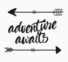 Adventure Awaits (arrows) Kids Tee