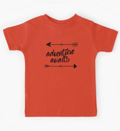Adventure Awaits (arrows) Kids Tee