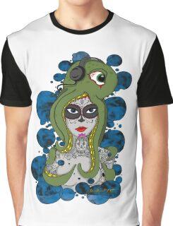 Octo Skull Girl Graphic T-Shirt