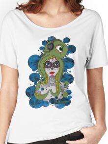 Octo Skull Girl Women's Relaxed Fit T-Shirt