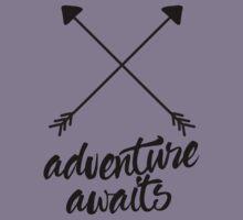 Adventure Awaits (cross arrows) Kids Tee