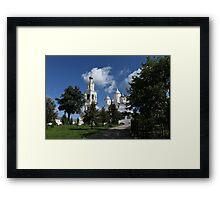cathedral Spaso-Prilutsky Monastery Framed Print