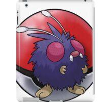 Venonat pokeball - pokemon iPad Case/Skin