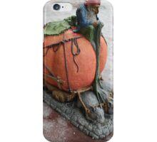 goblin driving pumpkin carriage  iPhone Case/Skin