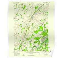 New York NY Black River 123315 1958 24000 Poster