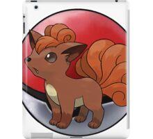 Vulpix pokeball - pokemon iPad Case/Skin