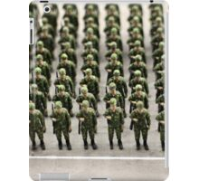 military teamwork iPad Case/Skin