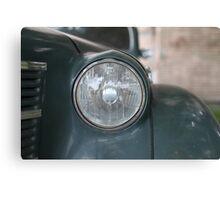 headlight vintage car Canvas Print