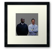 Jake and Holt Two Framed Print