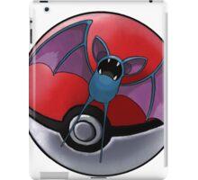Zubat pokeball - pokemon iPad Case/Skin