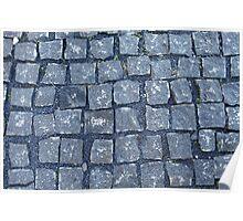 paving stone walkway Poster