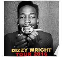 Dizzy Wright 01 TOUR 2016 Poster