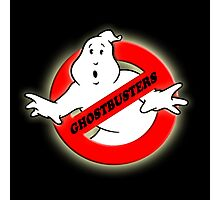 GhostBusters Logo Photographic Print