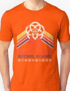 EPCOT Shirt - Distressed Logo - Entertain Inform Inspire T-Shirt
