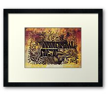 Primordial Mist Framed Print