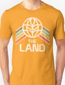 The Land Logo Distressed in Vintage Retro Style Unisex T-Shirt