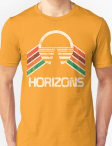 Vintage Horizons EPCOT Center Distressed Logo Retro Style T-Shirt
