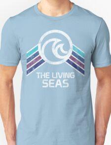 EPCOT Center The Living Seas Distressed Logo T-Shirt