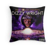 Dizzy Wright 03 TOUR 2016 Throw Pillow