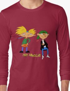 hey arnold Long Sleeve T-Shirt