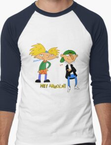 hey arnold Men's Baseball ¾ T-Shirt