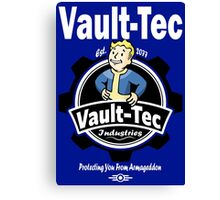 Vault Tec Industries Canvas Print