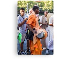 Keeping the beat Canvas Print