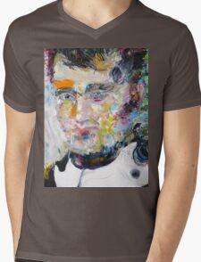 NAPOLEON - oil portrait Mens V-Neck T-Shirt