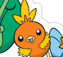 Pokémon Generation 3 Starters Sticker