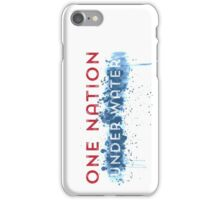 Global Warming - One Nation Under Water iPhone Case/Skin