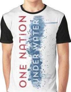 Global Warming - One Nation Under Water Graphic T-Shirt