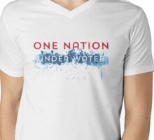 Global Warming - One Nation Under Water Mens V-Neck T-Shirt