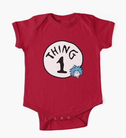 Thing 1 One Piece - Short Sleeve