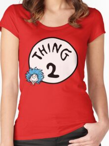 Thing 2 Women's Fitted Scoop T-Shirt