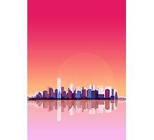 New york city landscape. Ny. Manhattan Photographic Print