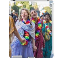 Join hands and dance iPad Case/Skin