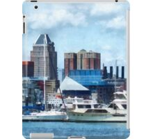 Baltimore Skyline and Harbor iPad Case/Skin