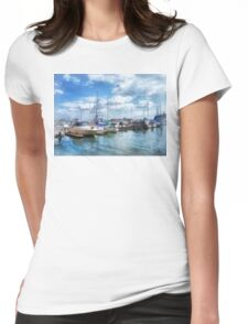 Boat Basin Fells Point Womens Fitted T-Shirt