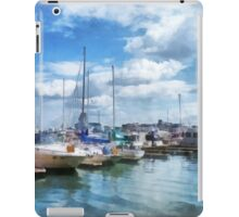 Boat Basin Fells Point iPad Case/Skin