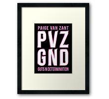 PVZ - GND Framed Print
