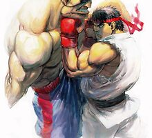 Street Fighter by mangalol