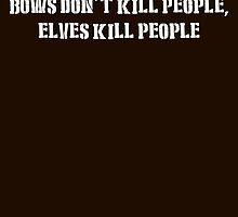 Bows Don't Kill People White Design by AheadVentures