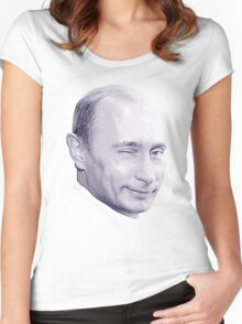 Putin Women's Fitted Scoop T-Shirt