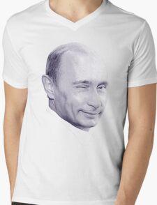 Putin Mens V-Neck T-Shirt