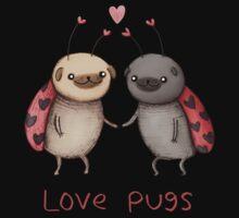 Love Pugs Kids Tee