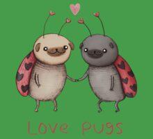 Love Pugs One Piece - Short Sleeve